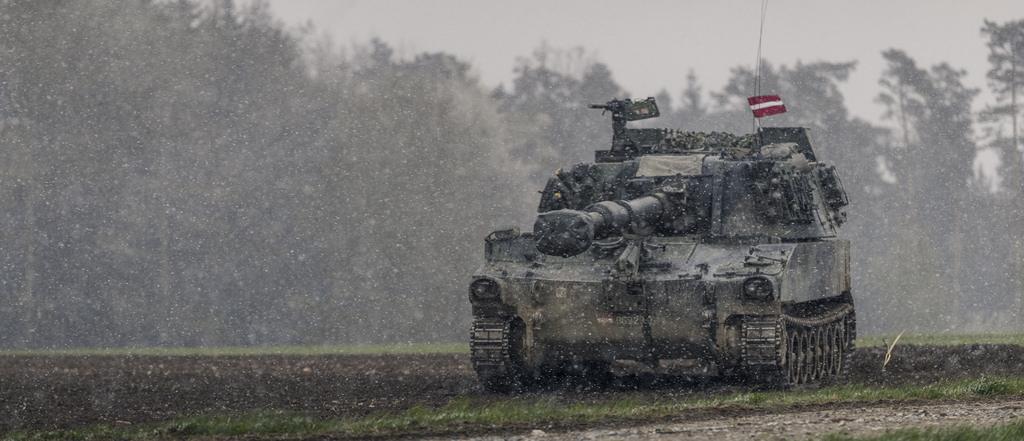 Міністерство оборони Латвії підписало контракт на закупівлю самохідних гаубиць M-109A5OE