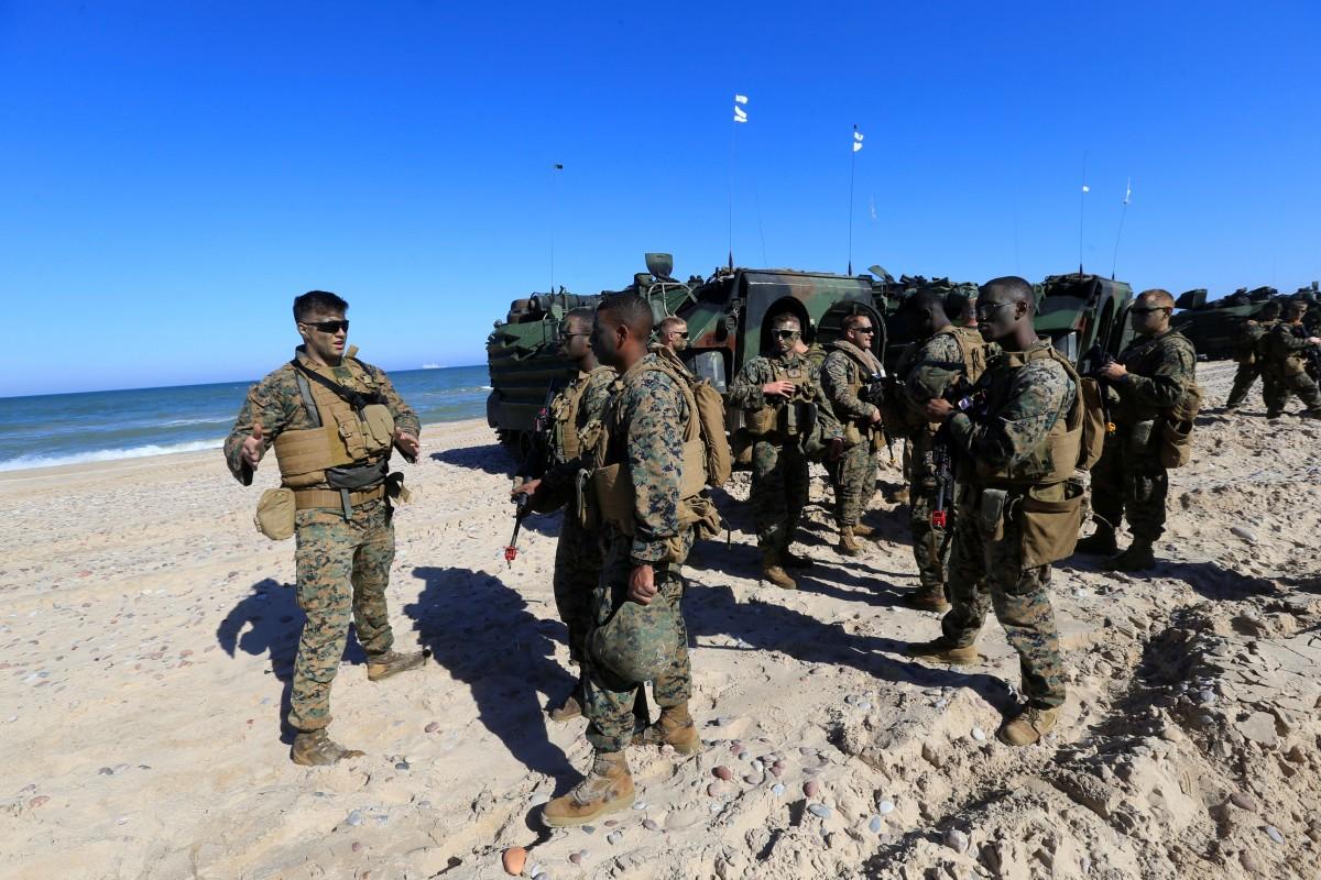 В Балтії стартували об'єднані навчання сухопутних і повітряних сил Saber Strike.