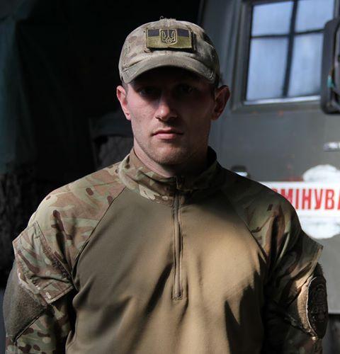 """В столиці попрощались із нашим загиблим воїном – командиром інженерно саперної роти 72 бригади Євген """"Юджин"""" Сарнавський."""