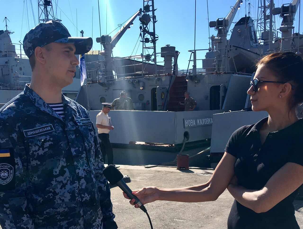 Курсанти Інституту ВМС під час катерного походу відвідають іноземні порти – Варна та Констанца