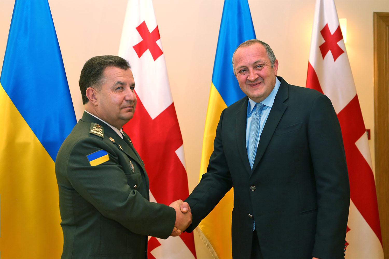 Хід робочої поїздки Міністра оборони України до Грузії