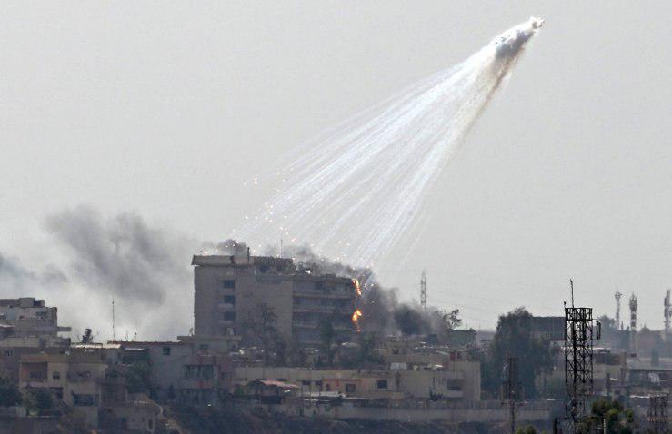 При штурмі позицій ІДІЛ в Мосулі застосовують снаряди з білим фосфором