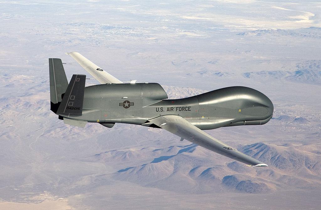 RQ-4 Global Hawk здійснив обліт поблизу південного берегу окупованого Криму