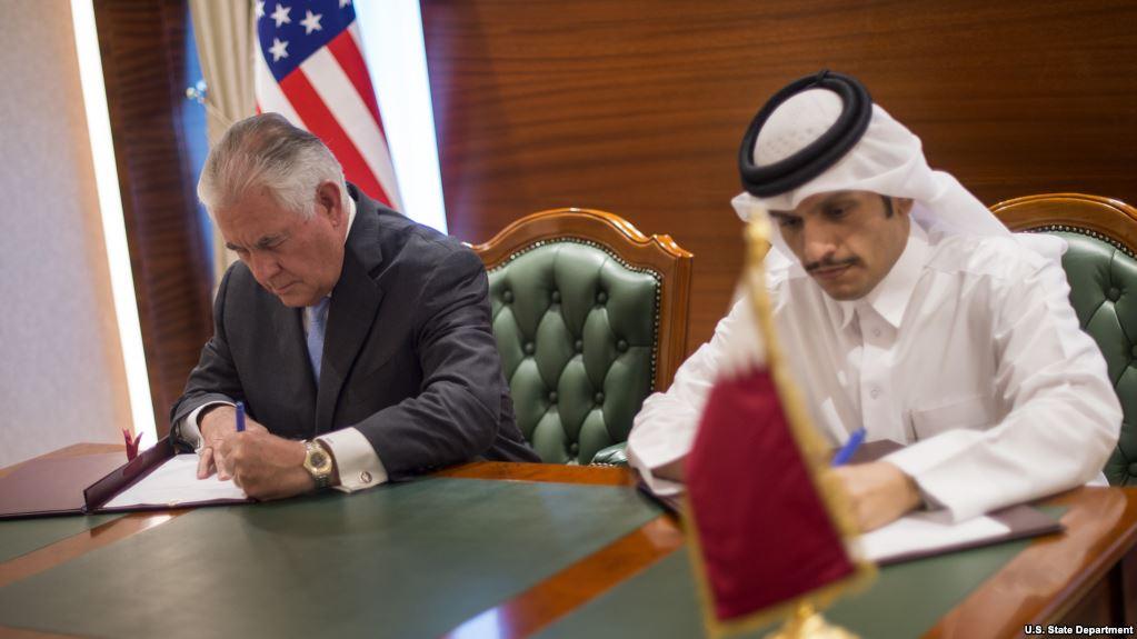 Тіллерсон підписав з Катаром угоду про обмеження фінансування тероризму