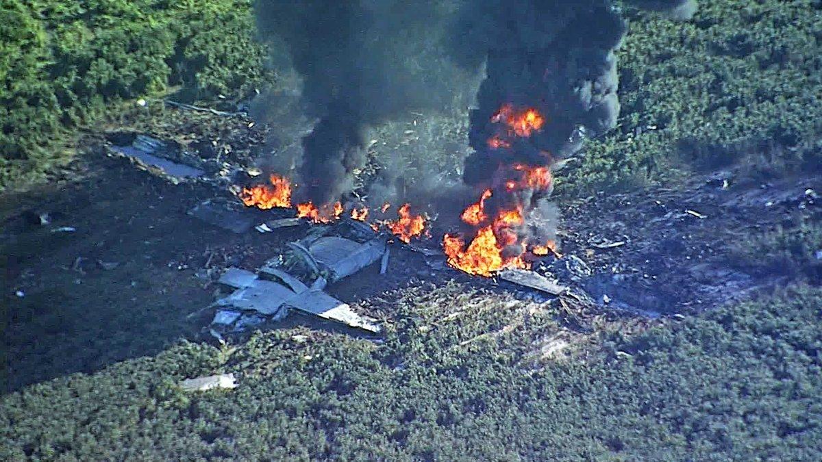 У США розбився літак корпусу морської піхоти: 16 людей загинули