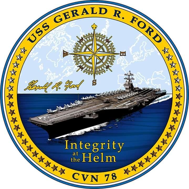 Сьогодні відбудеться церемонія прийому до складу ВМС США найбільшого авіаносця в світі