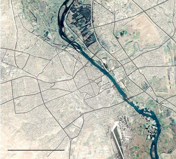 Операція по звільненню Мосула – супутникові знімки до і після неї