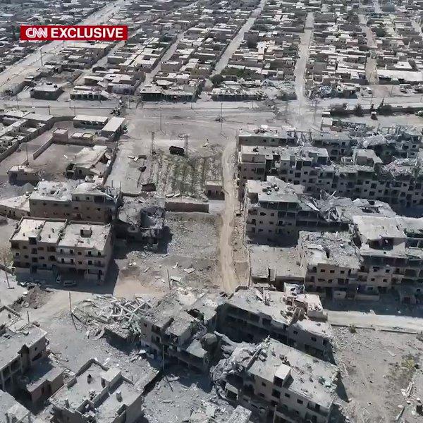 Масштаби руйнувань у місті Ракка після початку боїв за цей населений пункт