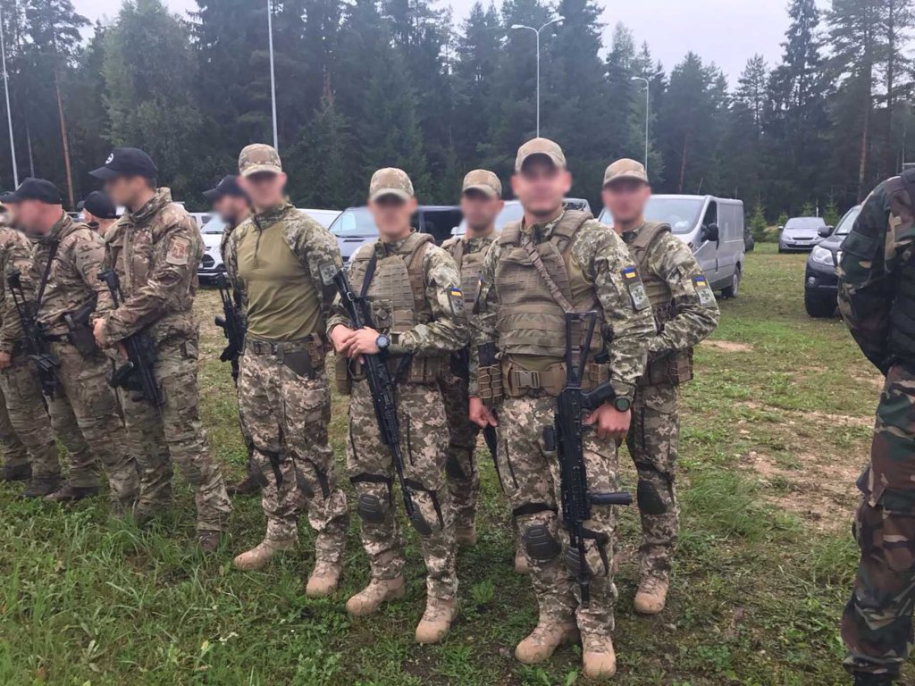 У Латвії співробітники ДПСУ беруть участь у міжнародних змаганнях підрозділів спеціального призначення
