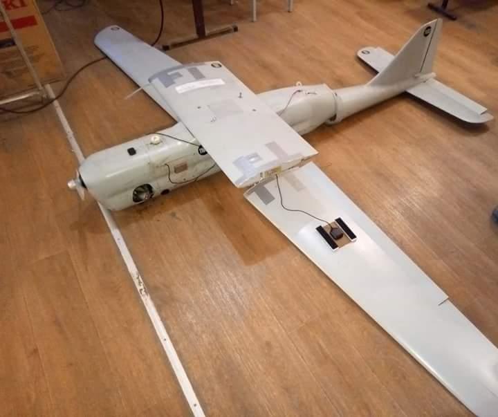 """На Донбасі впав російський БПЛА """"Орлан-10"""""""