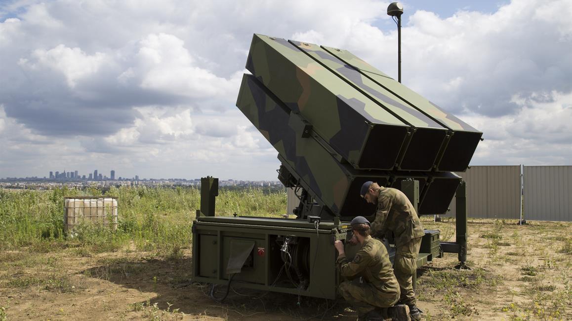 Литва купує норвезький зенітно-ракетний комплекс NASAMS