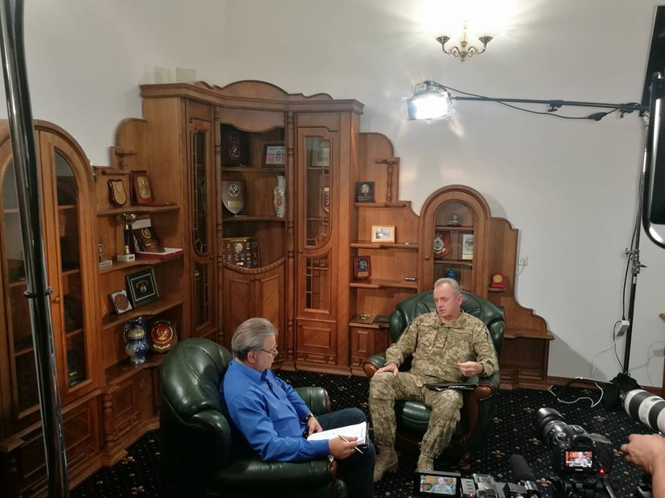 Віктор Муженко розповів про обґрунтовану підозру щодо диверсії на 48 арсеналі в Калинівці