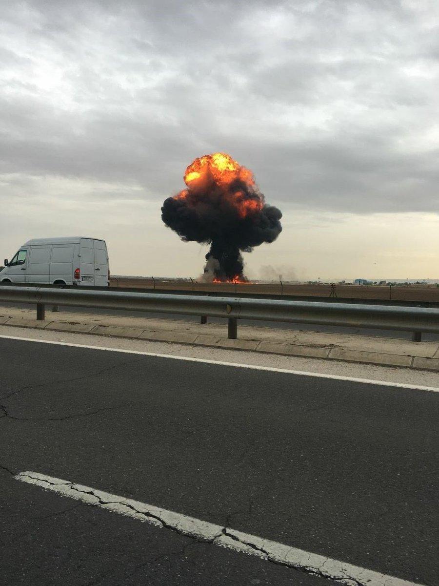 Поблизу Мадрида розбився F-18 ВПС Іспанії