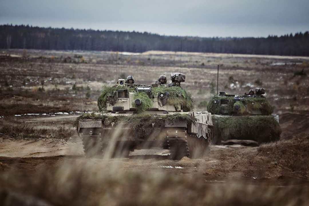 """В Литві проходить друга частина цьогорічних навчань """"Iron Wolf II"""""""