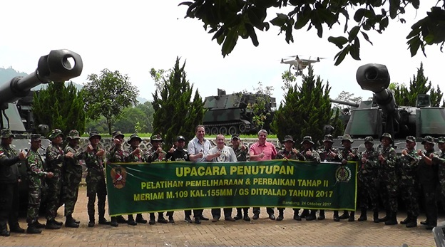 Самохідні артилерійські гармати M-109 надійшли на озброєння Індонезії