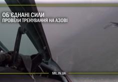 Об'єднані сили провели тренування на Азові