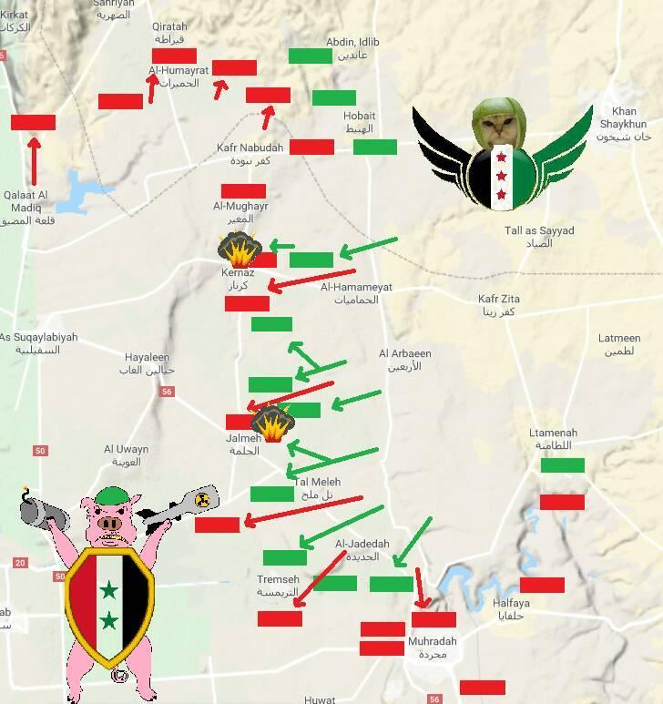 Наступ сил опозиції в Сирії – хроніка подій за 8 червня