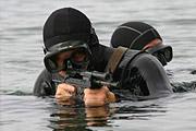 Українські бойові плавці переймають досвід у данців