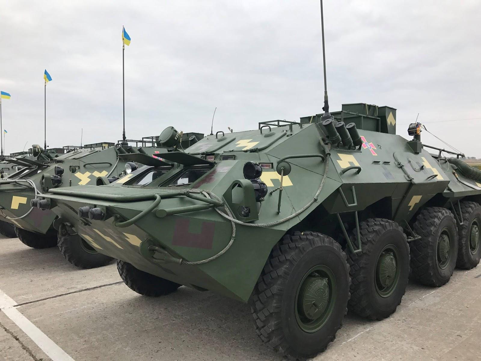 У 2016 році на озброєння ЗСУ прийнято 17 нових зразків ОВТ та 64 допущено до експлуатації