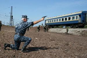 Кабмін дозволив захищати потяги вогнепальною зброєю
