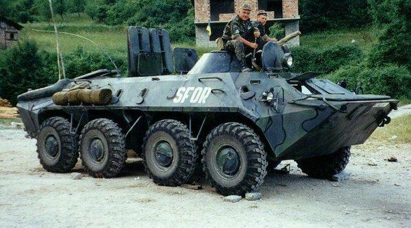 Бронетранспортер БТР-70