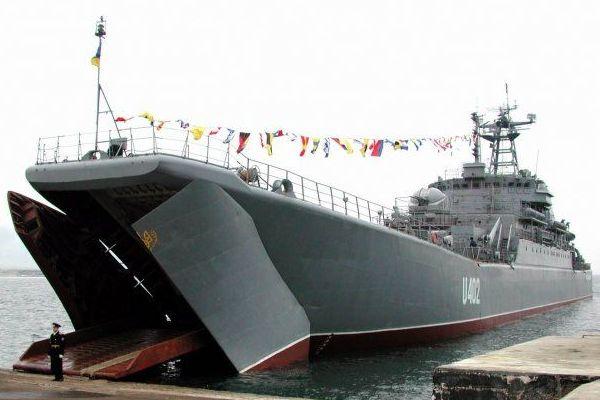 """Великий десантний корабель """"Костянтин Ольшанський"""" успішно подолав чорноморські протоки Босфор та Дарданелли і тримає курс до берегів Лівії"""
