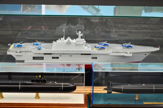 Export variant of the Priboy multipurpose landing ship