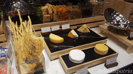 the cheese spread