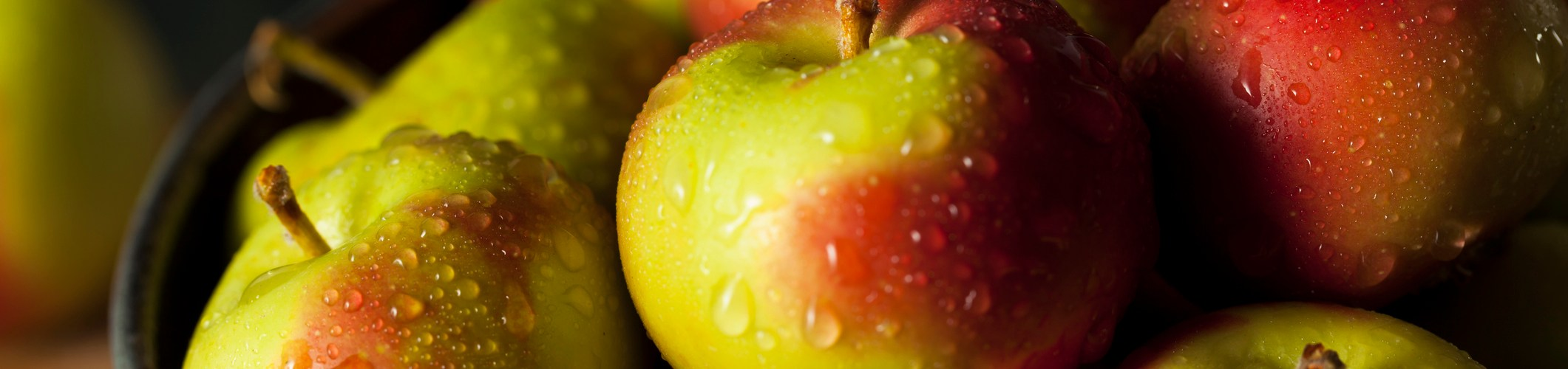 Raw Organic Lady Apples