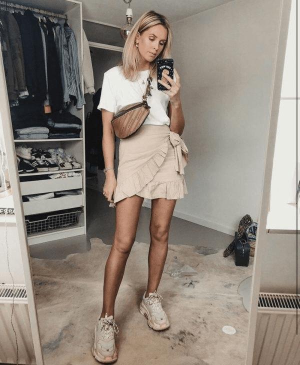 Faldas trendy que debes usar antes de que acabe el verano