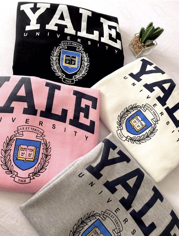 Hoodie Yale colors