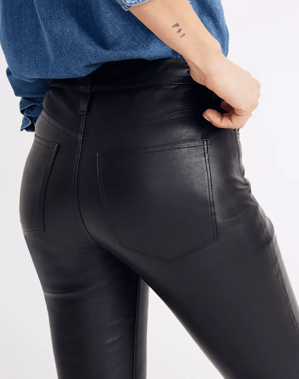 Leather jeans 2