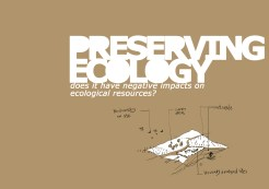 COVER PRESERVING ECOLOGY