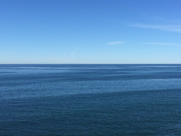 So many shades of blue