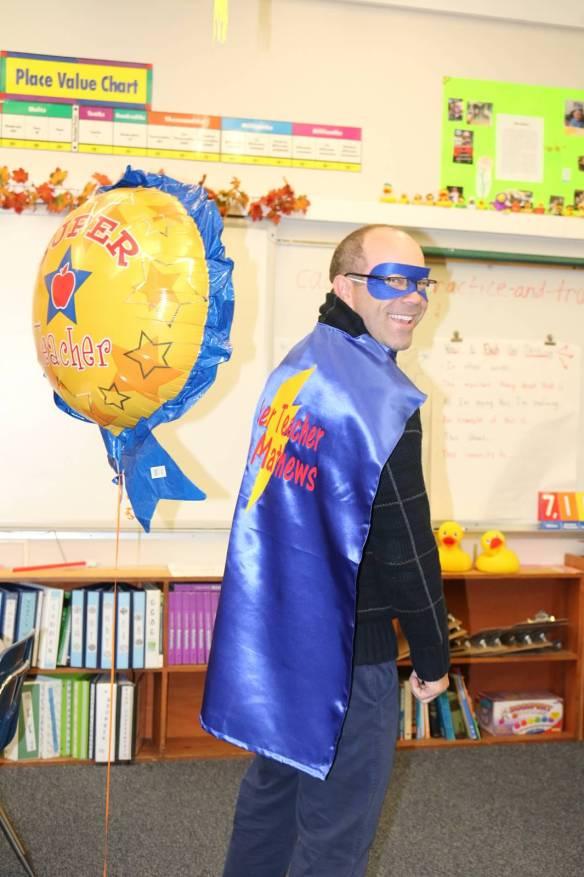 Teacher Appreciation Week appropriately wardrobed this guy