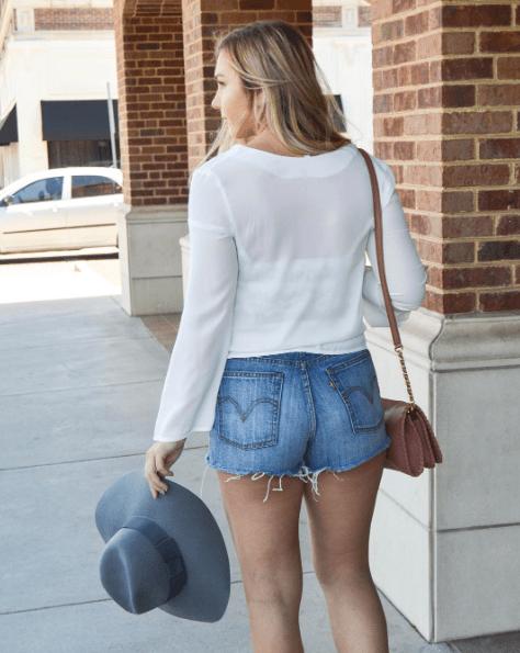 Shop the most fabulous denim shorts on MilanDarling.com