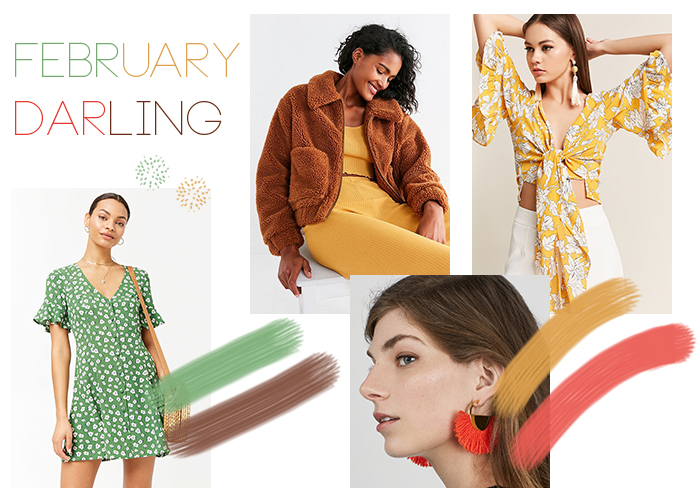 February Mood: Color Palette & How to Get the Look