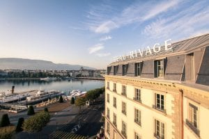 Beau-Rivage Lake Facade