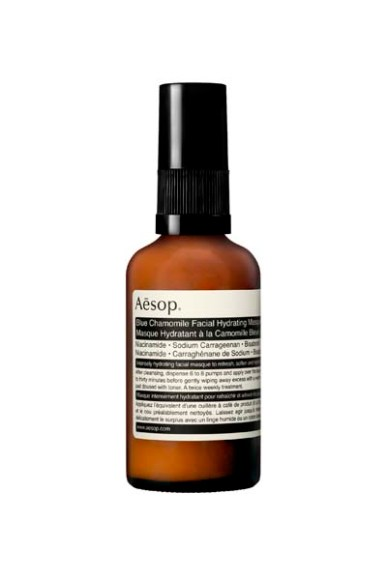 AESOP SKIN BLUE CHAMOMILE FACIAL HYDRATING MASQUE 60mL CAP ON C