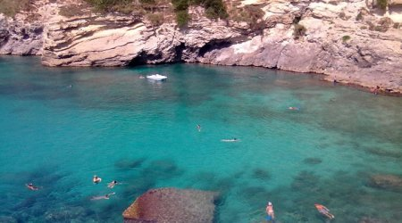 clear blue sea, south Italy