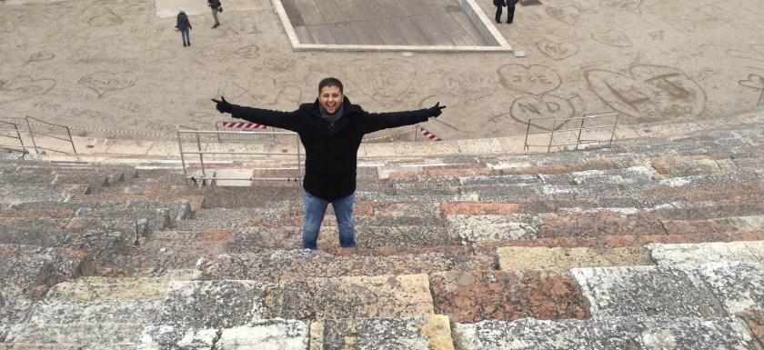 Valentine's day at Verona, Italy: Land of Romeo & Juliet