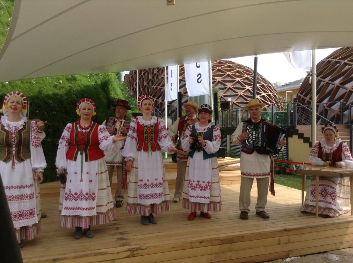 Belarus traditional music and dance, Milano Expo 2015, MilanKaRaja