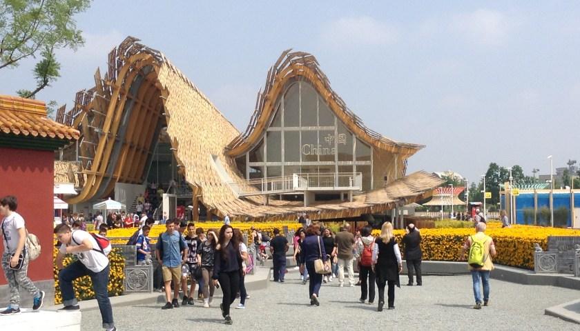 expo milan, china pavilion