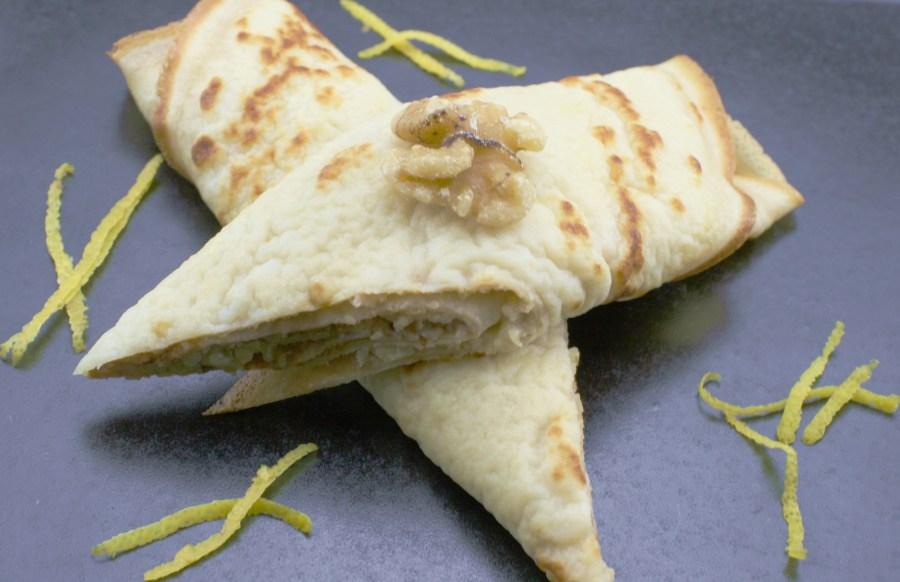 Croatian Style Pancakes With Walnut Filling (Palačinke Sa Orasima)
