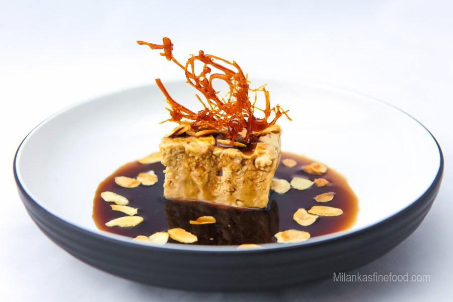 Zabaglione Semi Freddo with Marsala Sauce