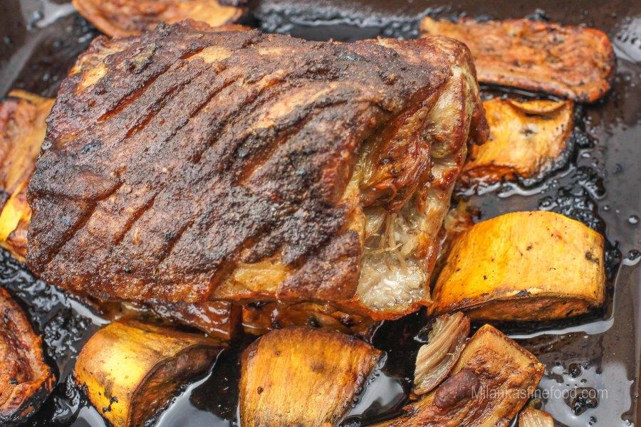 A Slow Roasted Shoulder of Pork