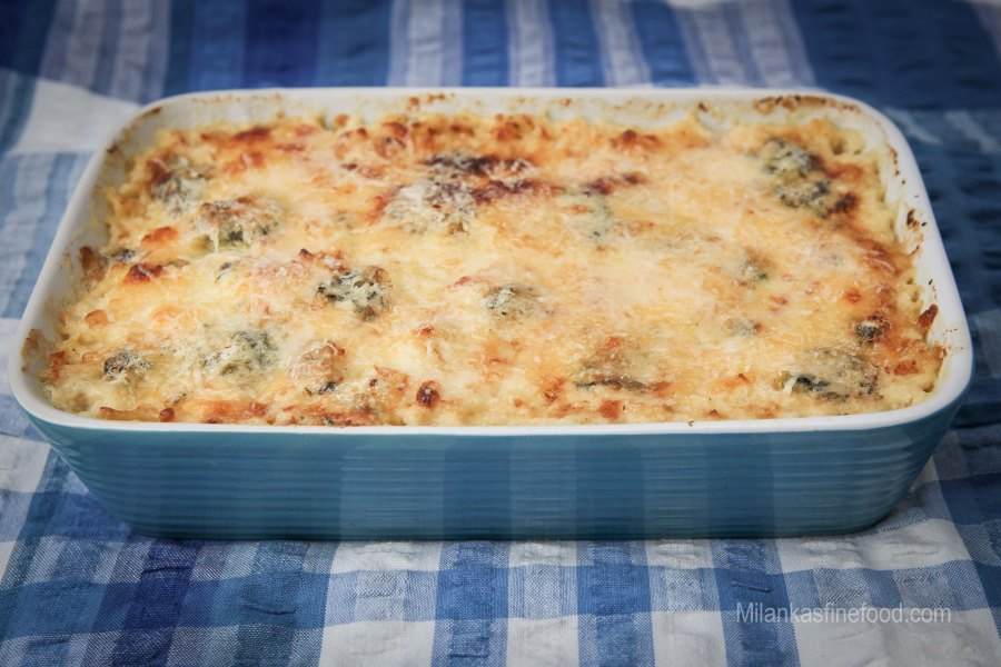 Cauliflower & Cheese Bake