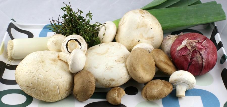 Mushroom & Leek Soup
