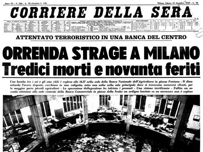 Risultati immagini per strage di Piazza Fontana