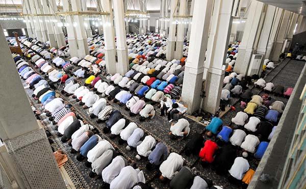 nella Foto LaPresse la Moschea di Roma